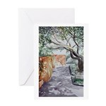 """Siesta Shade"" Blank Greeting Card"