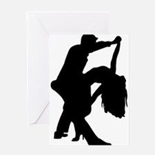 Romantic Couple Dance Greeting Cards