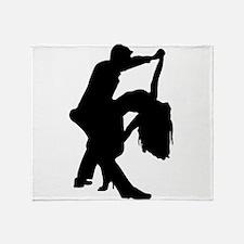 Romantic Couple Dance Throw Blanket