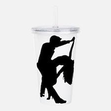 Romantic Couple Dance Acrylic Double-wall Tumbler