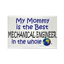Best Mechanical Engineer (Mommy) Rectangle Magnet
