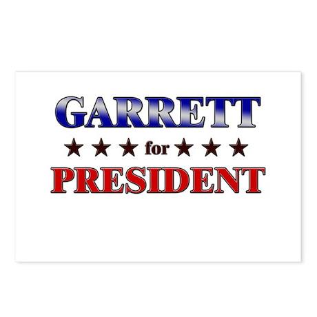 GARRETT for president Postcards (Package of 8)