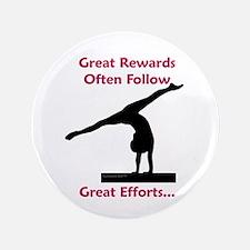 """Gymnastics 3.5"""" Button - Rewards"""