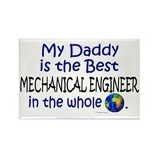 Best Mechanical Engineer (Daddy) Rectangle Magnet