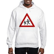 Children Crossing Hoodie