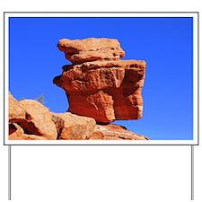 Balancing Rock Yard Sign