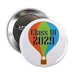 "Class Of 2029 Back To School Graduation 2.25"" Butt"