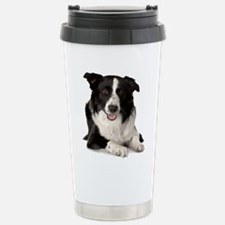 Cute Border collie Travel Mug