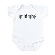 got bboying? Infant Bodysuit