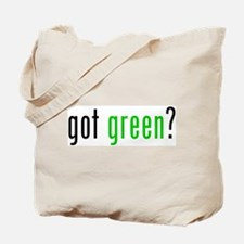 got green? Tote Bag