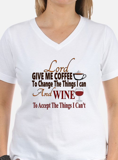 Lord give me coffee and win Shirt