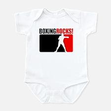 Boxing Rocks Infant Bodysuit