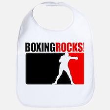 Boxing Rocks Bib