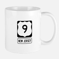 US Route 9 New Jersey Mugs