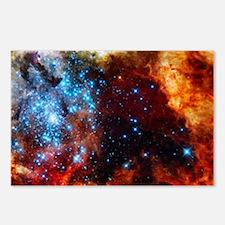Orange Nebula Postcards (Package of 8)
