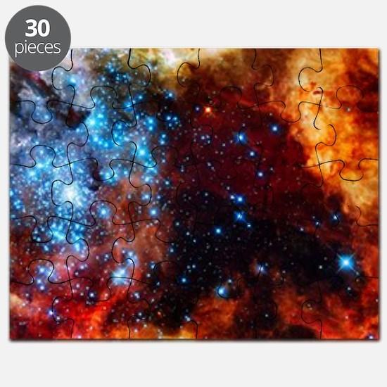 Orange Nebula Puzzle