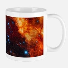 Orange Nebula Mugs