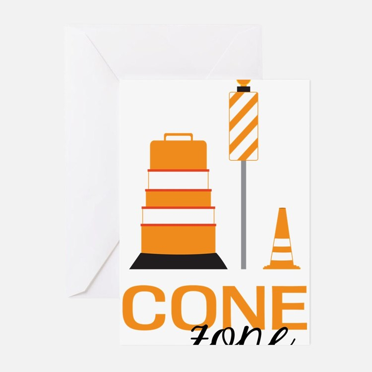 Cone Zone Greeting Cards