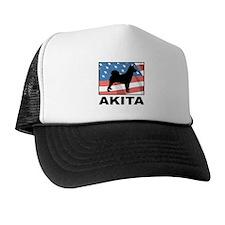 American Akita Trucker Hat