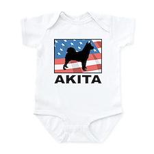 American Akita Infant Bodysuit