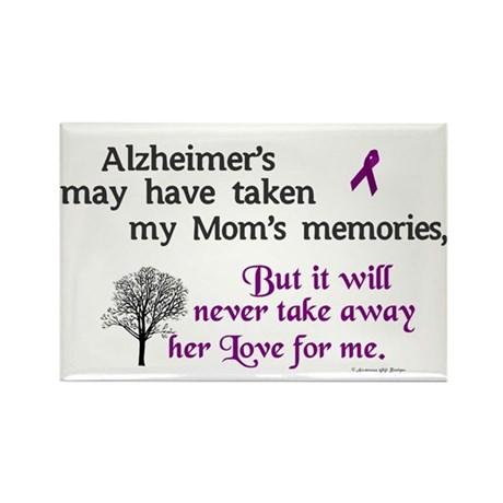 Will Never Take Love (Mom) Rectangle Magnet (100 p
