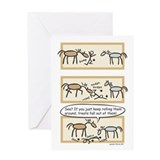 Horse cards Greeting Cards