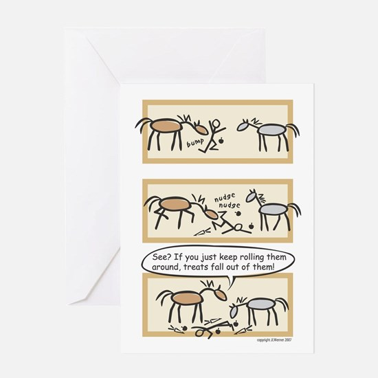 Horse Treats Birthday Card (message on inside)