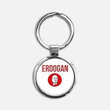 Cute Turkish Round Keychain