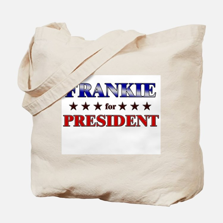 FRANKIE for president Tote Bag