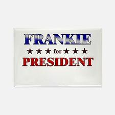 FRANKIE for president Rectangle Magnet