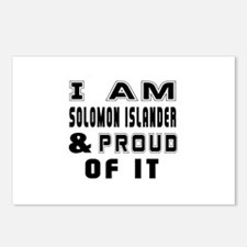 I Am Solomon Islander And Postcards (Package of 8)