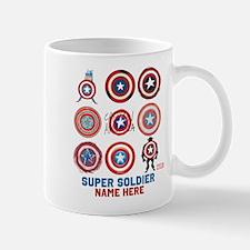 Captain America 75th Anniversary Person Mug