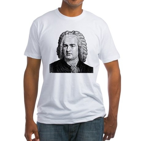 Bach Fitted T-Shirt