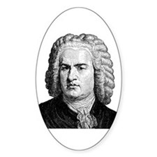 Bach Oval Decal
