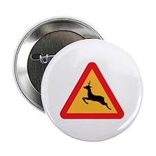 "Deer Crossing 2.25"" Button (10 pack)"