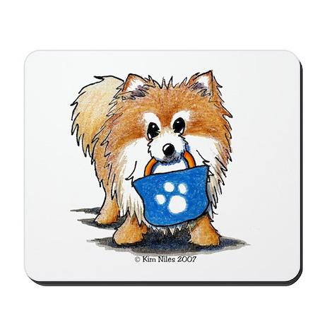 Doggie Bag Pom Mousepad