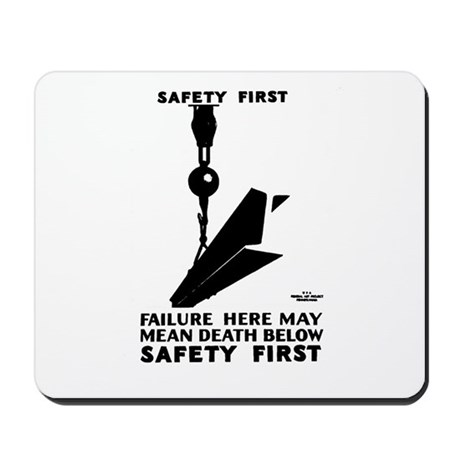 Safety First 1937 Mousepad