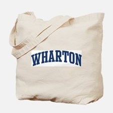 WHARTON design (blue) Tote Bag
