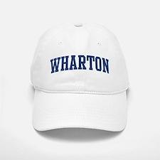 WHARTON design (blue) Baseball Baseball Cap