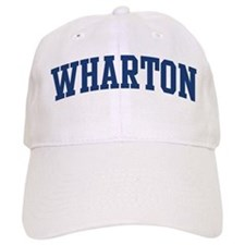 WHARTON design (blue) Baseball Cap