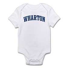 WHARTON design (blue) Infant Bodysuit