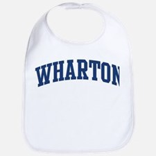 WHARTON design (blue) Bib