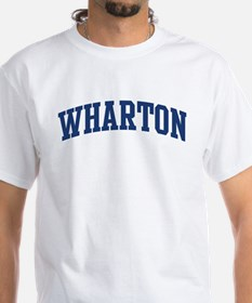 WHARTON design (blue) Shirt