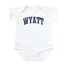 WYATT design (blue) Infant Bodysuit