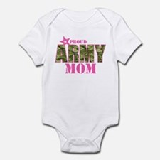 Camo Proud Army Mom Infant Body Suit