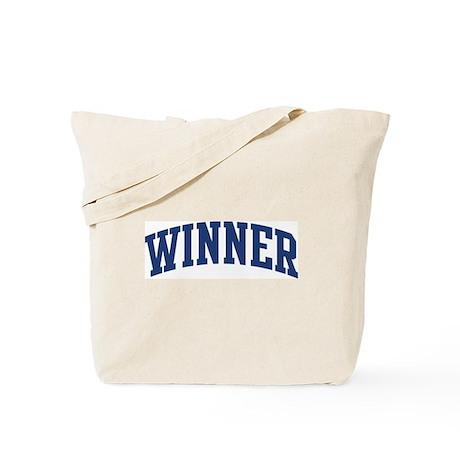 WINNER design (blue) Tote Bag