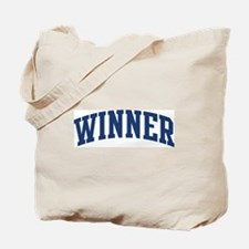 WINNER design (blue) Tote Bag