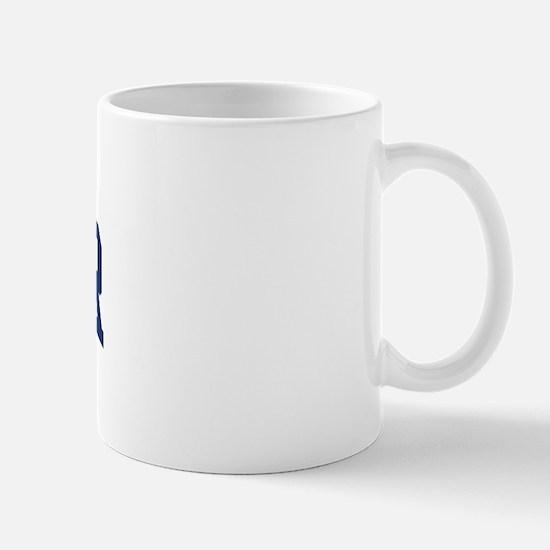 WINNER design (blue) Mug
