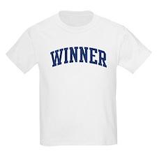 WINNER design (blue) T-Shirt