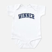 WINNER design (blue) Infant Bodysuit